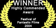 Boston International Film Festival Award.