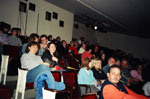 Photo of Rhode Island film festival audience.